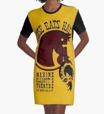 Horse eats hat Graphic T-Shirt Dress