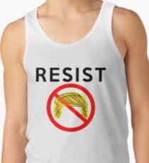 Nicht mein Präsident Protest Trump widerstehen Tank Top