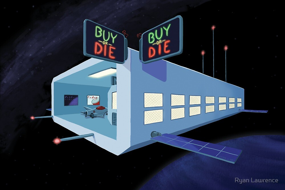 Buy or Die by Ryan Lawrence