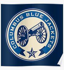 Columbus Blue Jackets Poster