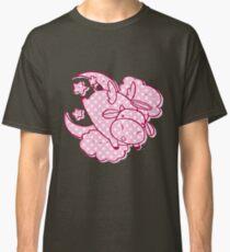 Pink Polk-a-dot Angel Cow Classic T-Shirt