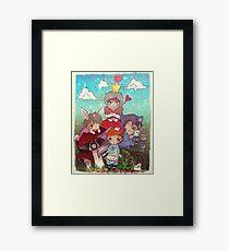 Cabin Pressure In Wonderland Framed Print