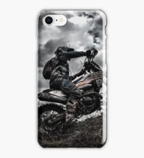 Enduro race iPhone Case/Skin