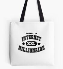 Internet Nillionaire Tote Bag