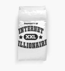 Internet Nillionaire Duvet Cover