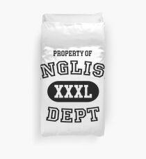 English Department Property Duvet Cover