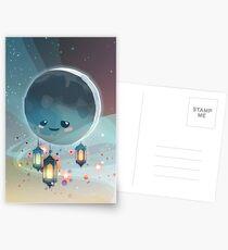 Lantern Moon (Ramadan Kareem) Postkarten