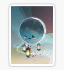 Lantern Moon (Ramadan Kareem) Sticker