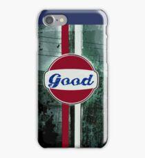 Good Grunge Oil  iPhone Case/Skin