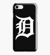 Detroit Tigers Logo White iPhone Case/Skin