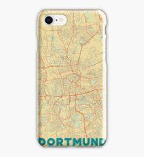 Dortmund Map Retro iPhone Case/Skin