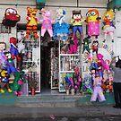Shop in Panajachel by Alan Hovey