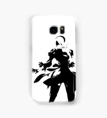 2B Silhouette Samsung Galaxy Case/Skin