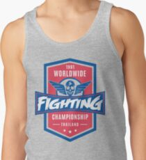 1991 Worldwide Fighting Championship Tank Top