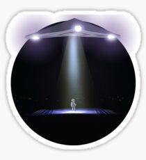 Deep Throat UFO Sticker