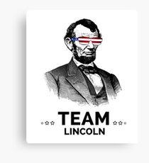Team Lincoln in Da House Canvas Print