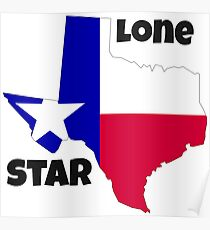 Texas: the lone star Poster