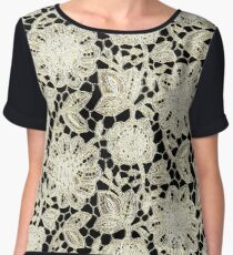 LACE,,,,House of Harlequin Women's Chiffon Top