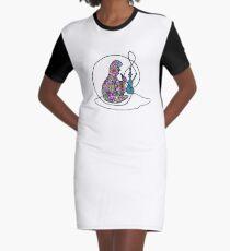 Alice Hookah Graphic T-Shirt Dress
