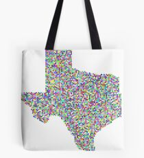 Texas flag-colorful Tote Bag