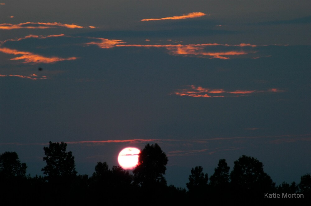 Sunset in Mayville by Katie Morton