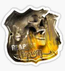 Reaper's Highway Sticker