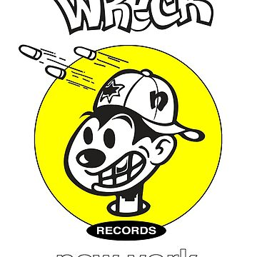 Wreck Records  - yellow logo by philmart