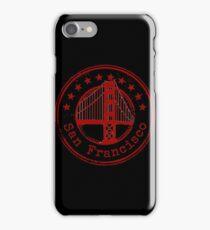 San Francisco Stamp iPhone Case/Skin