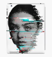 Girl (Glitch) iPad Case/Skin
