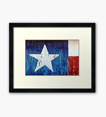 Texas-rustic Framed Print