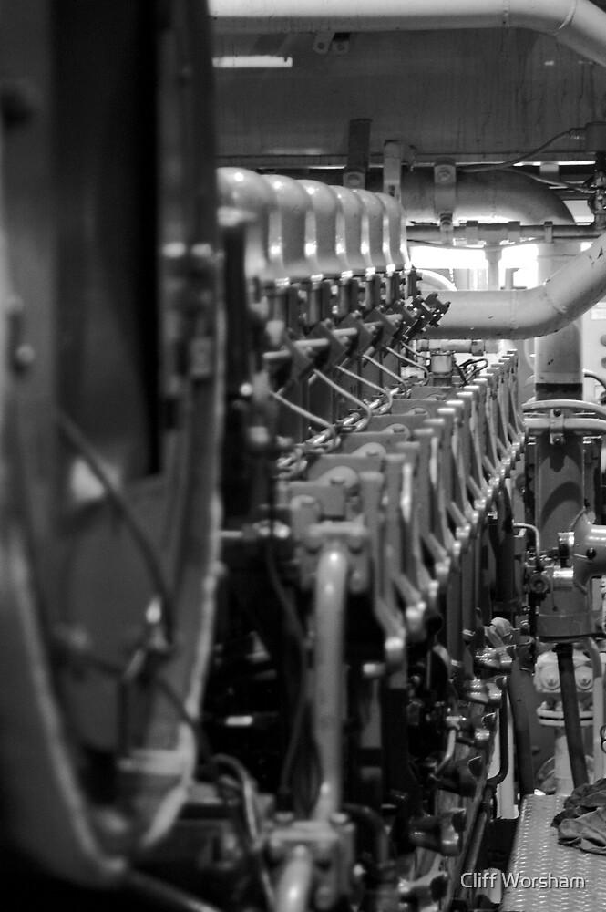 Main Engine 3 by Cliff Worsham