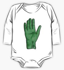 Talk To The Hand (Green) One Piece - Long Sleeve