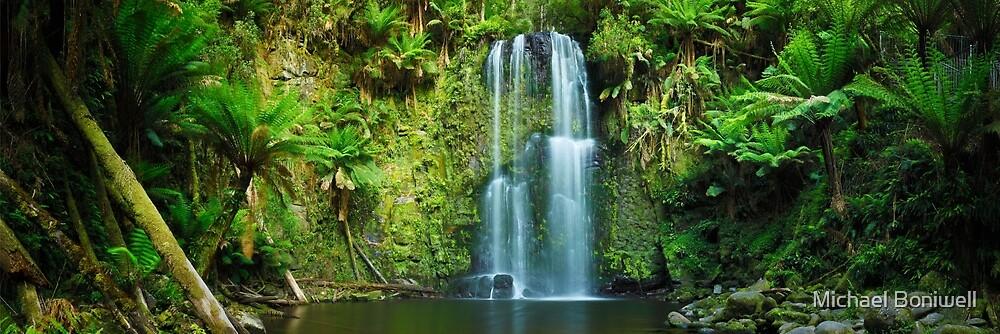 Beachamp Falls, Otways, Great Ocean Road, Victoria, Australia by Michael Boniwell