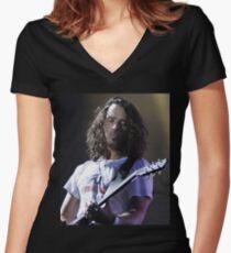 Cornell Women's Fitted V-Neck T-Shirt