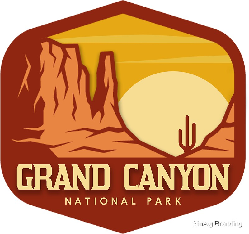 Quot Grand Canyon National Park Quot Stickers By Hparc Redbubble