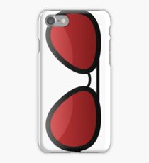 Red shades iPhone Case/Skin