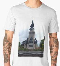 Monument to the fallen soldiers Men's Premium T-Shirt