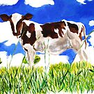Bincombe cow by Ally Tate