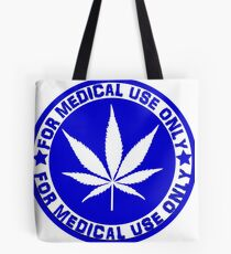Medical use blue Tote Bag