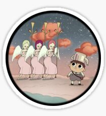 Over The Garden Wall - Auxiliary Reception Committee Sticker
