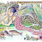 tropical fantasia - mermaid princess by John R.P. Nyaid