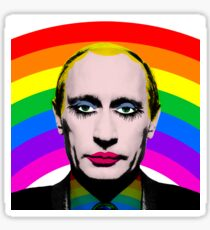 Gay Clown Putin Funny Gag Meme Sticker
