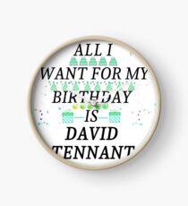 Birthday Tennant Clock