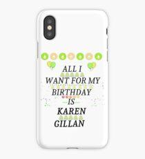 Birthday Gillan iPhone Case