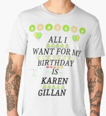 Birthday Gillan Men's Premium T-Shirt