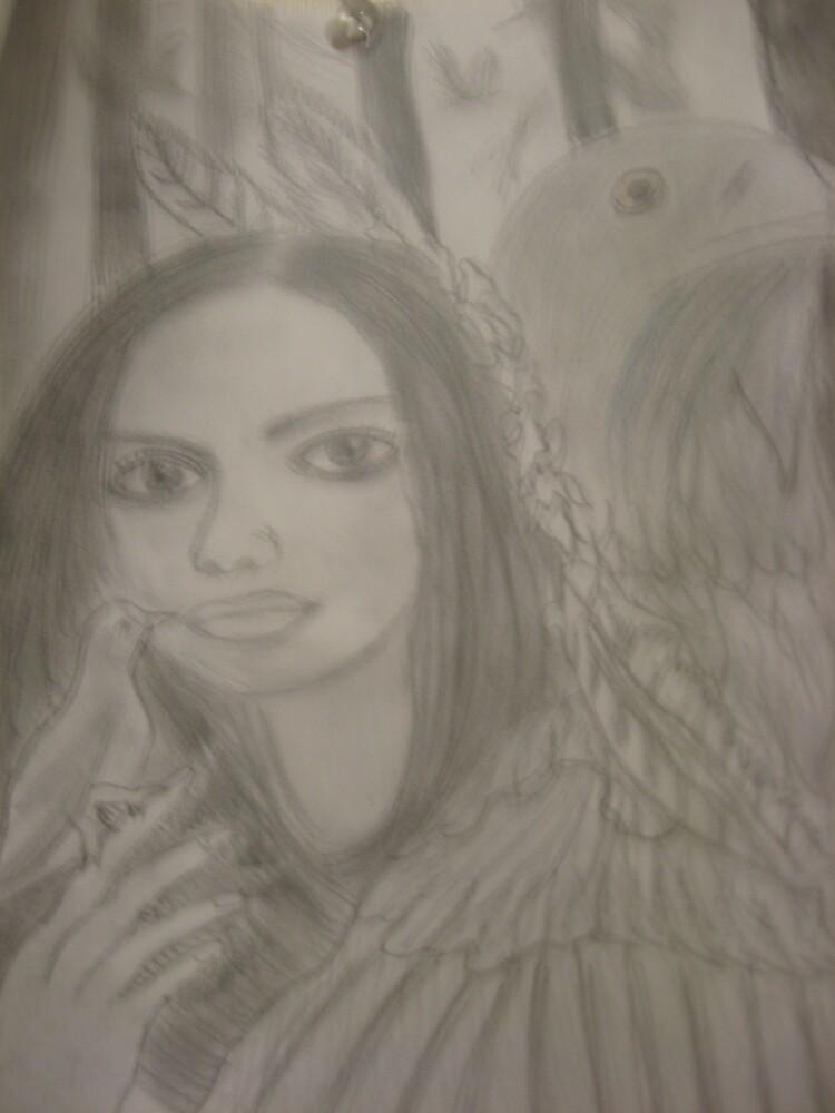 Indian Girl by shearocks