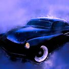 Lead Sled 51 Mercury Watercolour Illustration by ChasSinklier
