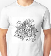 Fibonacci Flowers - Spirals Unisex T-Shirt