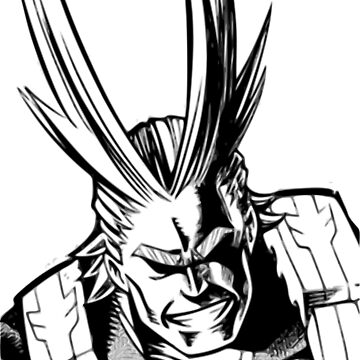 All Might - Plus Ultra by pponsv