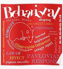 AP Psychologie - Behaviorismus Poster